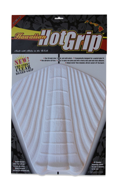 Hawaiian Hot Grip Traction Pad  - White