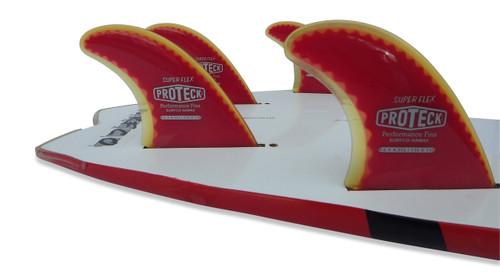 Super Flex Fin SUP Quad Set - FCS