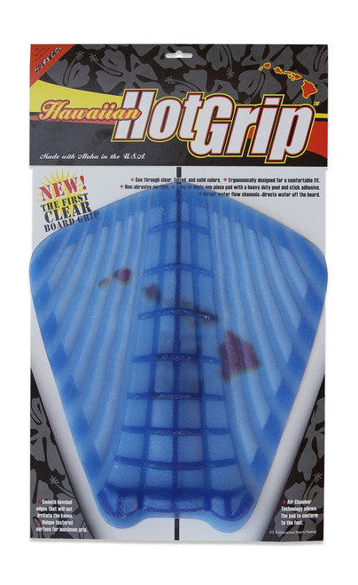 Hawaiian Hot Grip Traction Pad  - Blue Tint