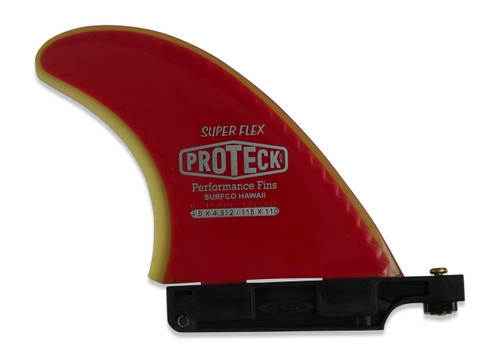"4.50"" Super Flex Center Fin with Longboard Adapter"
