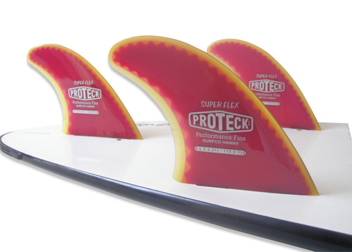"4.50"" Super Flex Fin Thruster Set - FCS"
