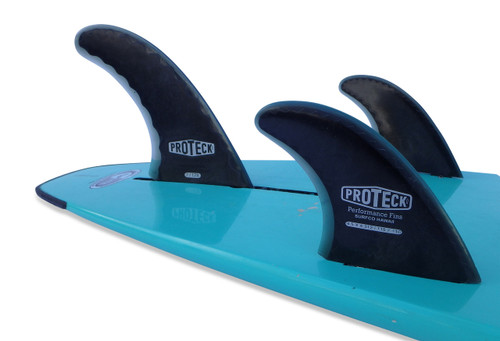 """7"""" Performance Fin Combo Set w/ 4"""", 4.25"""", or 4.5"""" Side Fins - FCS"""