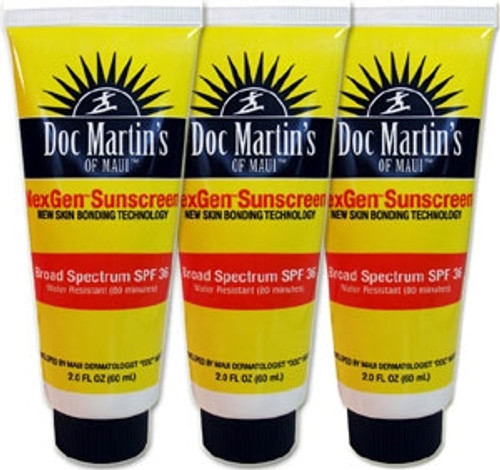 Doc Martin's of Maui Sunblock - NexGen - 3-Pack