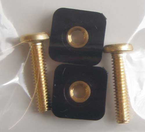 Breakaway Plastic Tabs and Screws (2 ct)