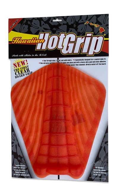 Hawaiian Hot Grip Traction Pad  - Red Tint