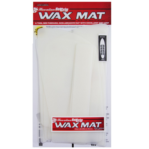 Hot Grip Wax Mat Kit Shortboard Choose Size