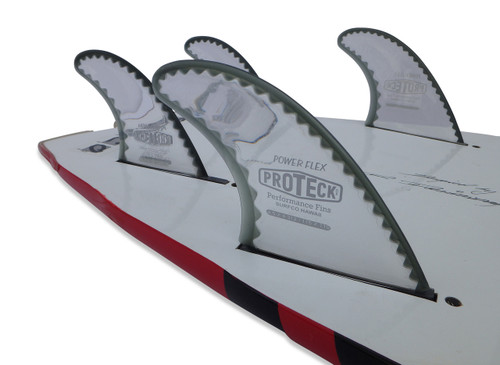 Power Flex Fin SUP Quad (4.5 front/4.5 trailer) - FCS