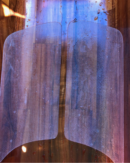 Translucent White Outrigger Canoe Marine Grip panels