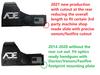 Ade Advanced Optics 2021 RD3-009D Crusader Reflex Red Dot Sight - 6MOA