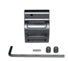 Low Profile Micro .223 Rifle STEEL Gas Block & Roll Pin .750 HideUnder quad rail