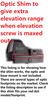 Ade Advanced Optics Optics Delrin Shims  1.0 Degree  for Trijicon RMR/SRO, Holosun 407C/507C/508T/ADE RD3-019 STINGRAY/SWAMPFOX Liberty/Justice/Kingslayer Red dot Sight