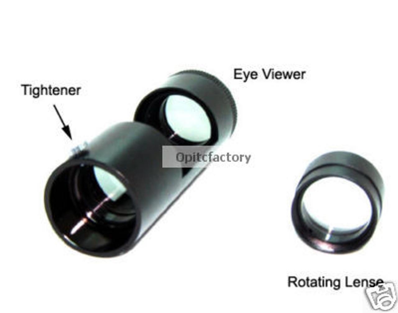 Portable Handheld Polariscope Gems Gemstone Gemologist Tool with LED Flashlight