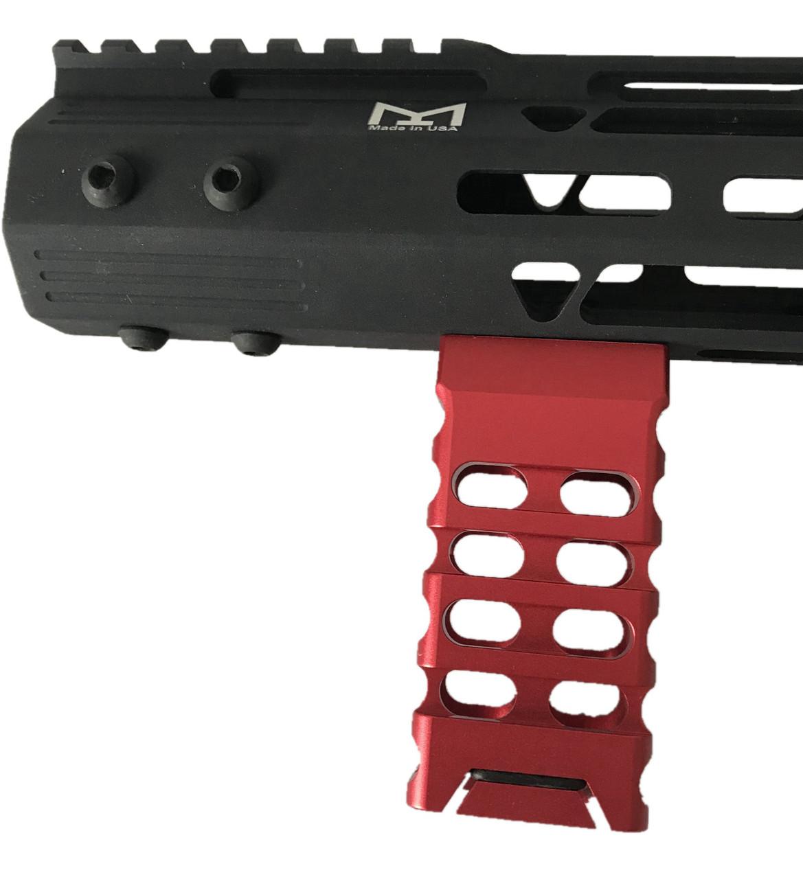 Black Aluminum Skeleton Foregrip Angle Grip for M-Lock handguards