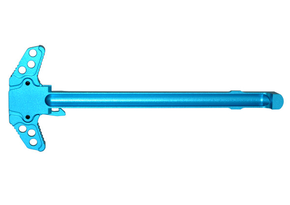 AR-10 .308 TACTICAL Ambi Dragon Eye Charging Handle Assembly - Blue