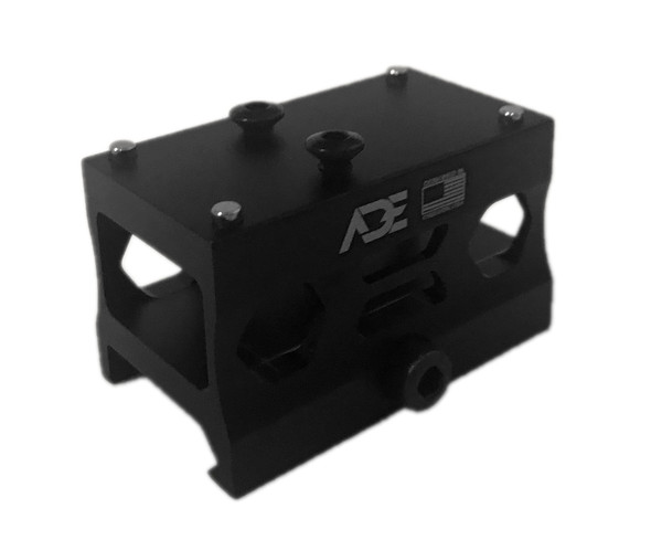 Ade Advanced Optics Absolute AR15/308 Co-Witness Riser HIGH Mount - Compatible with Trijicon RMR, ADE Stingray, Holosun HS407C/HS507C/HS508T Red Dot Sight
