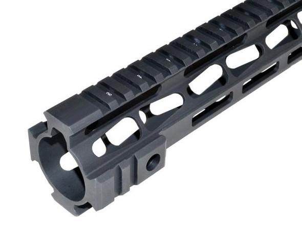"HIGH PROFILE DPMS 308! LR308 16.5"" inch MLOK Rail Super Slim Free Float Handguard for High Profile upper such as AERO, 16.5"""