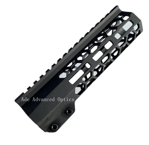 "MADE IN USA!- ADE HoneyComb 7"" inch MLOK rail Super Slim Carbine Length Handguard Free Float for AR15"