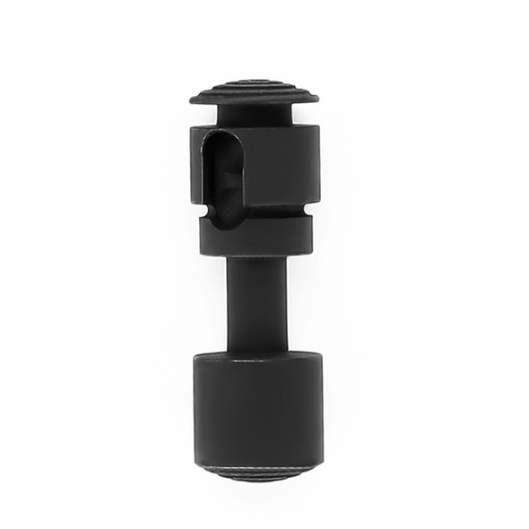 Push Button Stainless Steel Ambidextrous Safety Selector - Black