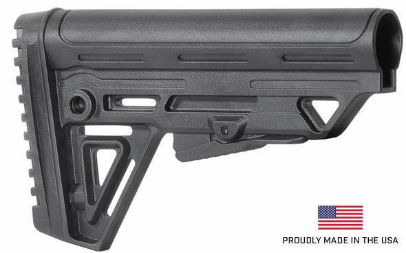 MADE IN USA! 12 GA Tactical Alpha Stock + Pistol Grip + Buffer tube +Castle Nut - COMPLETE KIT for Mossberg 500 590 535