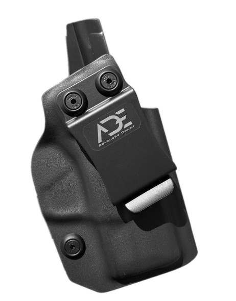 IWB Kydex Optics Ready HOLSTER for Springfield Hellcat OSP Pistol with Optic Cut - Compatible with Shield RMS/RMSC.RMSW/SMS, Sig Saure Romeo Zero, Swampfox Sentinel, ADE RD3-018 SPIKE Installed