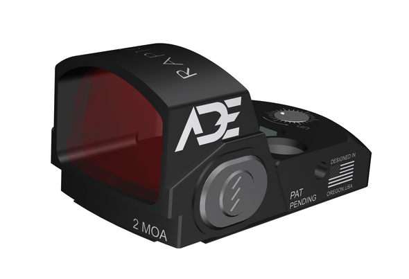 Ade Advanced Optics Raptor(RD3-020) Red Dot Sight For any handgun plate/slides/Cuts that are Compatible with Trijicon RMR Screw Pattern/Footprint - 2MOA Red Dot