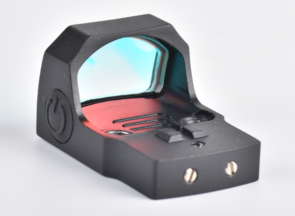 Ade Advanced Optics Valkyrie (RD3-023) GREEN Dot Sight For any handgun plate/slides/Cuts that are Compatible with Trijicon RMR Screw Pattern/Footprint - 4MOA GREEN Dot