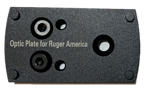 RUGER AMERICAN Pistol Mounting Plate for Vortex venom, burris fastfire, meopta, eotech mrds, docter, insight Red Dot Reflex Sight