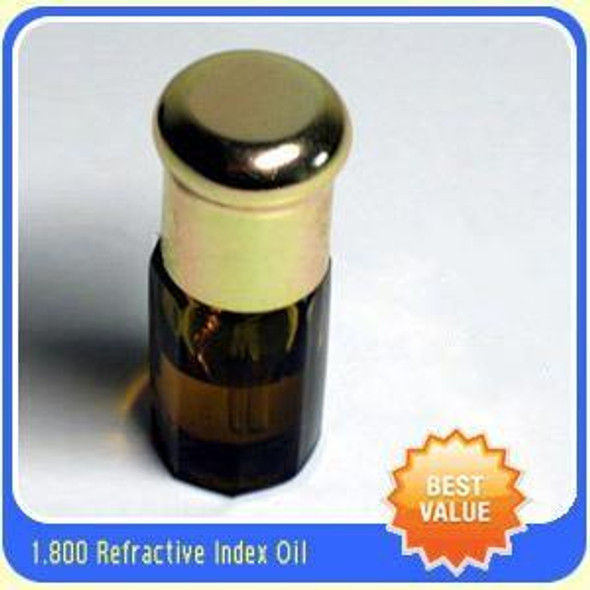 Gem Refractometer Refractive Index Fluid Liquid Oil RI 1.8