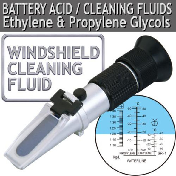 Celcius Chart ATC Glycol Antifreeze/Battery/Coolant Refractometer 503ATC