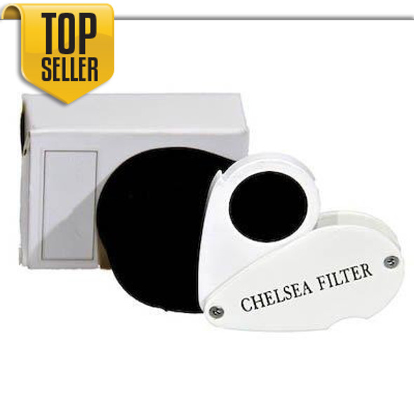 Chelsea Filter for testing Gemstone Gems,Testing, Loupe. Made in USA