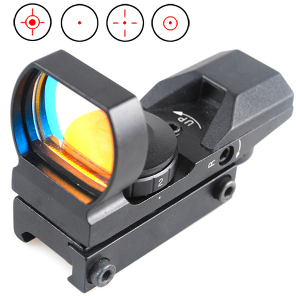 4 Reticle RED and GREEN Dot Sight Scope Picatinny Rail by Ade Advanced Optics