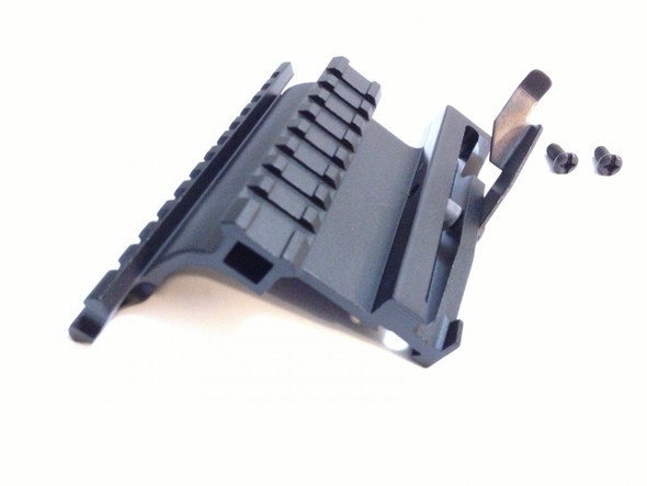 Tactical Saiga Quick Detach QD Side Mount with Dual Double Picatinny/weaver Rail