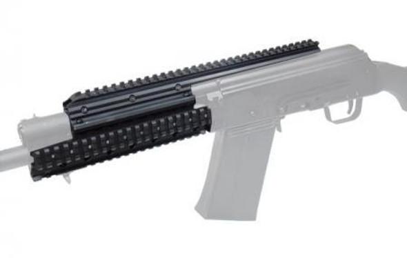 Saiga 12 & 20 Tactical Quad Rail System. Universal fits!