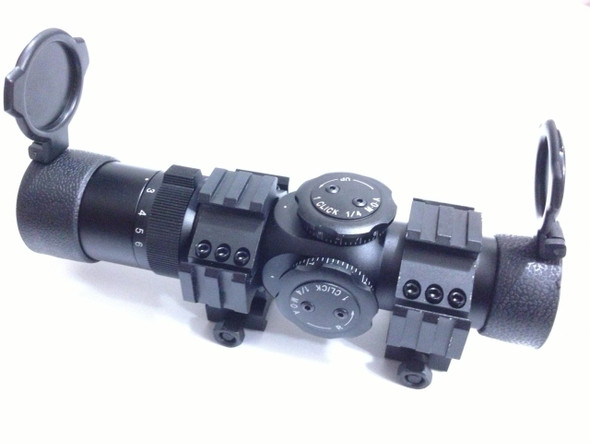 Ade Advanced Optics NEW 1-6x28 First Focal Plane FFP Rifle Scope 35mm Tube CQB