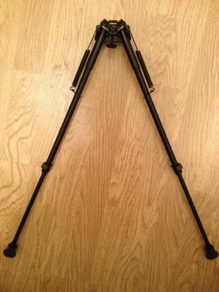 "Ade Advanced Optics 12 levels 13""-23"" Long Hunting Rifle Bipod with Picatinny Rail Adapter"