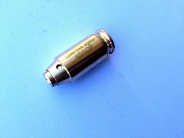 USA Bore Sighter .45 ACP Cartridge Gold Plated Red Laser Boresighter 45ACP