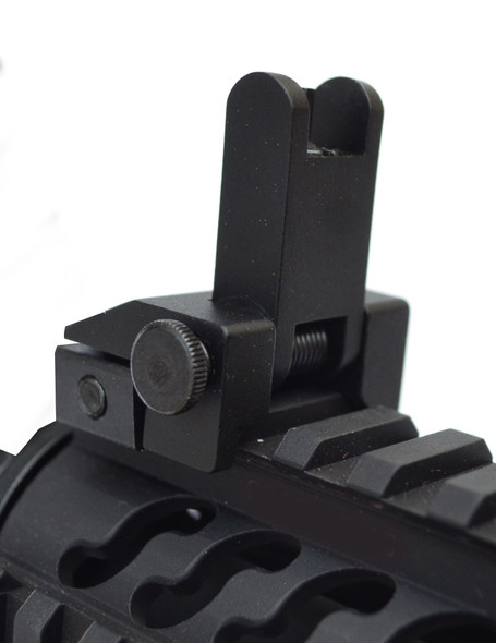 Premium Flip Up Sight Front/Rear Set !! Fits All Picatinny Rails and Flattop's !