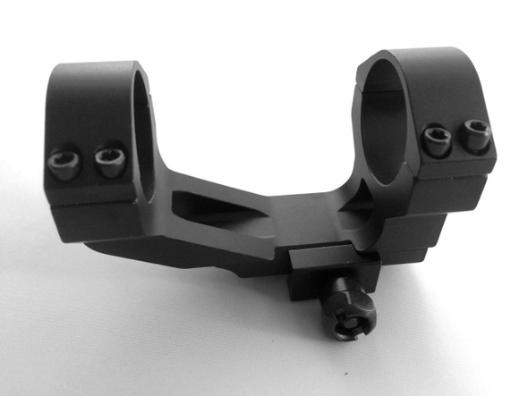 """ar15 1"""" Inch - 30mm Flat Top One Piece See Through Rifle Scope Ring Mount Picatinny"""