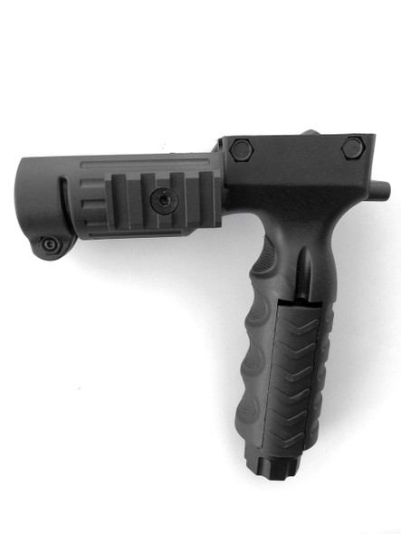 ar15 Rifle GRIP Foregrip+Storage+Pressure Switch+Flashlight Adapter+Picatinny Rail