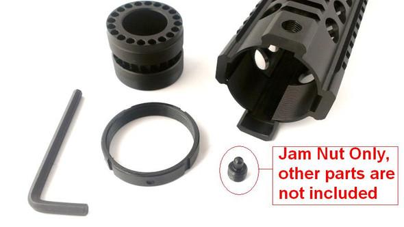 "Locking Screw for AR 15 Free Float Quad Rail Jam Nut for all length 7"" Carbine, 10"" Mid, 12"" Full Length"