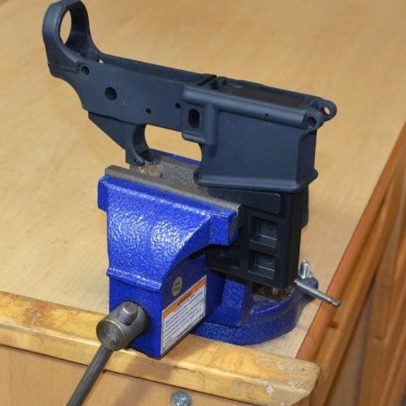 Lower Vise Block Gunsmithing Tool  for Clamping AR15 223 5.56 Rifle to Lower Receiver