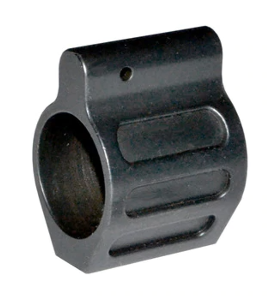 Low Profile Micro .223 Rifle STEEL Gas Block & Roll Pin .750 HideUnder quad rail