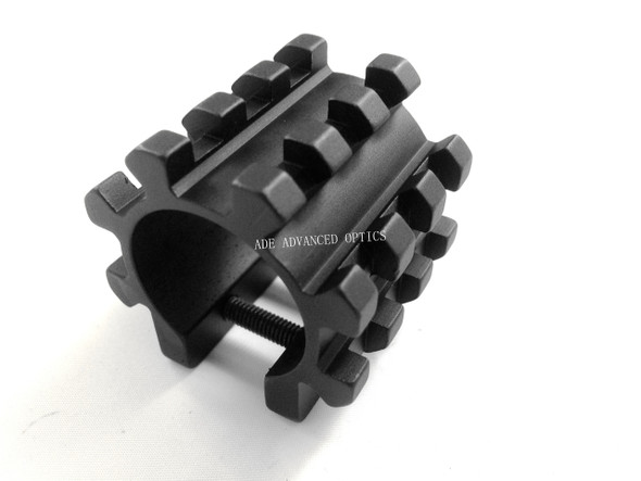 8-Rail Barrel Mount System Fits Any 12 Gauge Shotgun, quad, tri-rail such as mossberg 590 550 shockwave spx