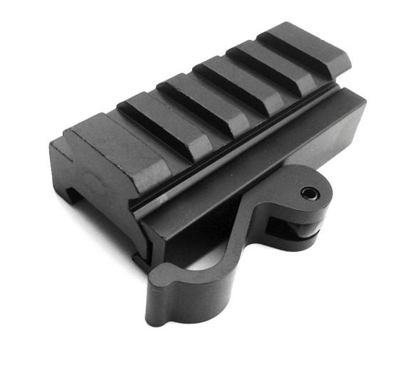 QD Quick Release 5-Slot Rifle Picatinny/Weaver Universal Adaptor Riser Rail