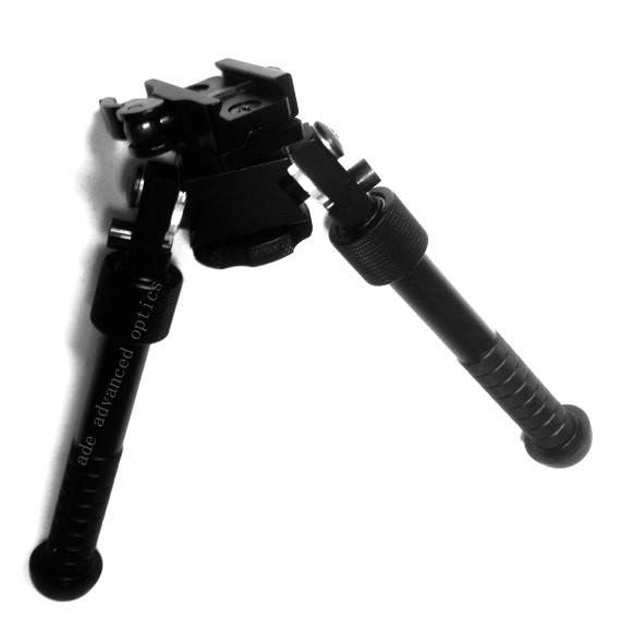 "360 degree 6""-9"" Swivel Rotate Adjustable Quick Release Bipod Pivot Traverse QD"
