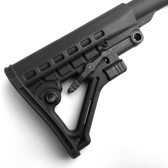 Gen 2! Black MIL SPEC  Buffer Tube Kit & AR15 Stock Buttstock ar 15