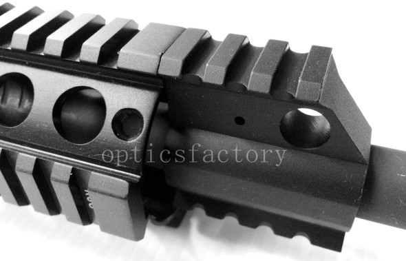 """Handguard Rail Height"" High Profile GAS BLOCK + Roll Pin .750"
