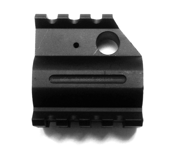 QUAD RAIL HEIGHT Profile GAS BLOCK + Roll Pin .750