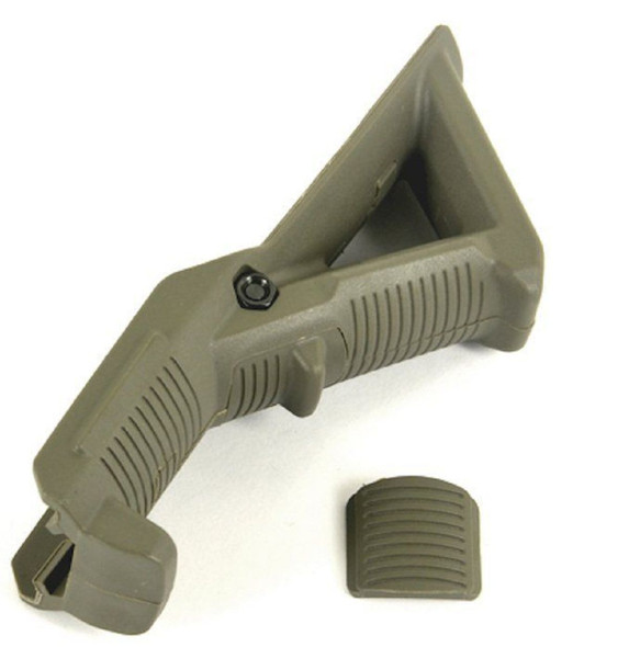 Rifle Angled Foregrip Front Grip for Picatinny Weaver Rail - ODG OD Green