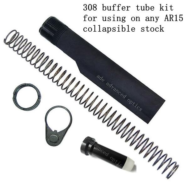 LR-308 LR308 AR-10 AR10 CARBINE Mil-Spec Buffer Tube Kit